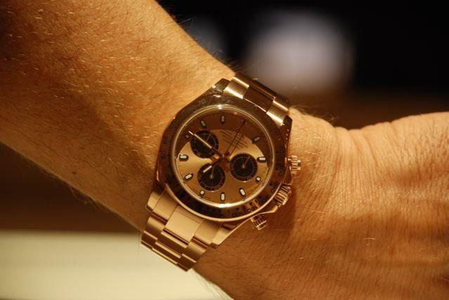 Rolex Daytona Rose Gold On Wrist Armourseal Co Uk