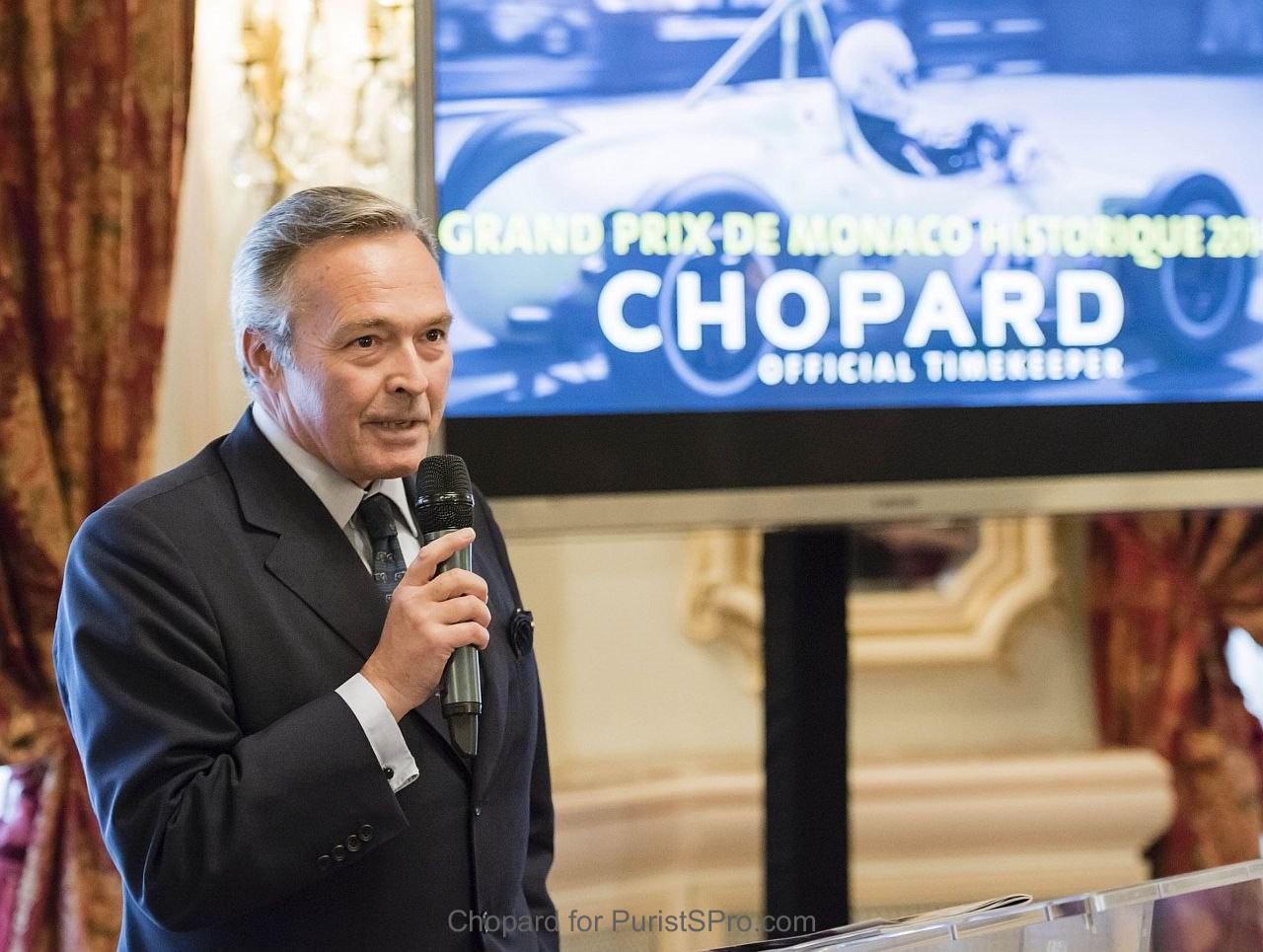 Chopard Co-President K-F Scheufele