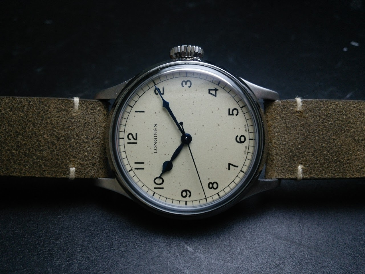 f92a686c9c31 Horological Meandering - The Longines Military watch (in dummy)