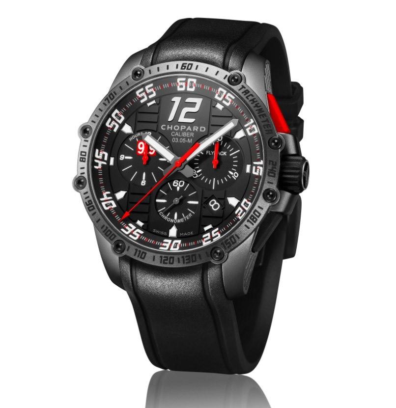 Chopard Superfast Chrono Porsche 919 Black Edition watch