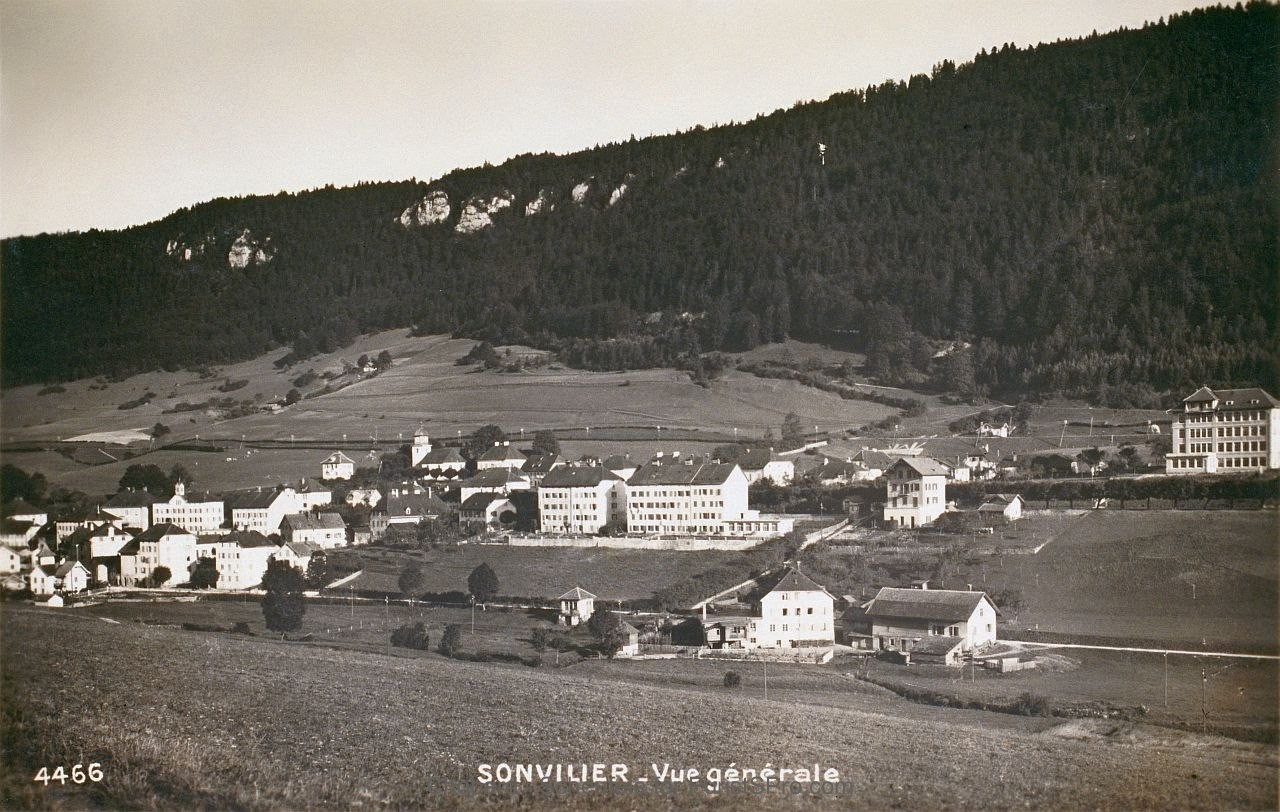 Old Sonvilier postcard circa 1920s