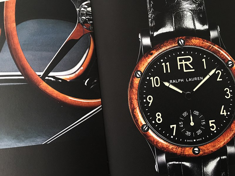 Why Boldest Auto-Inspired Watch, The Ralph Lauren Automotive