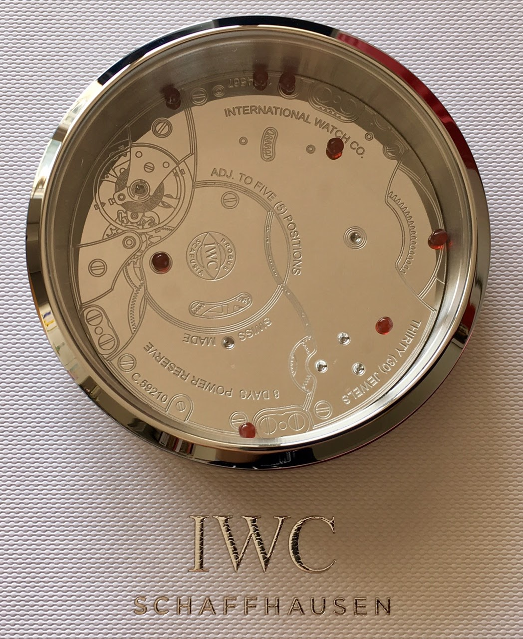 6627df494188 IWC paperweight puzzle (put all the little
