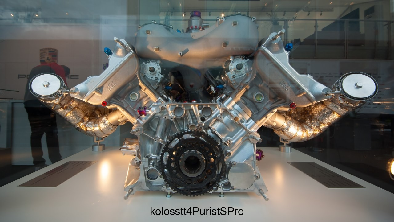 Porsche 919 Engine It S Indeed Small