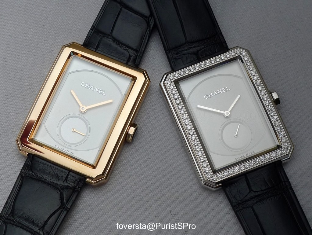 320b9673b74e Horological Meandering - Chanel unveils its new watch: Boy.Friend