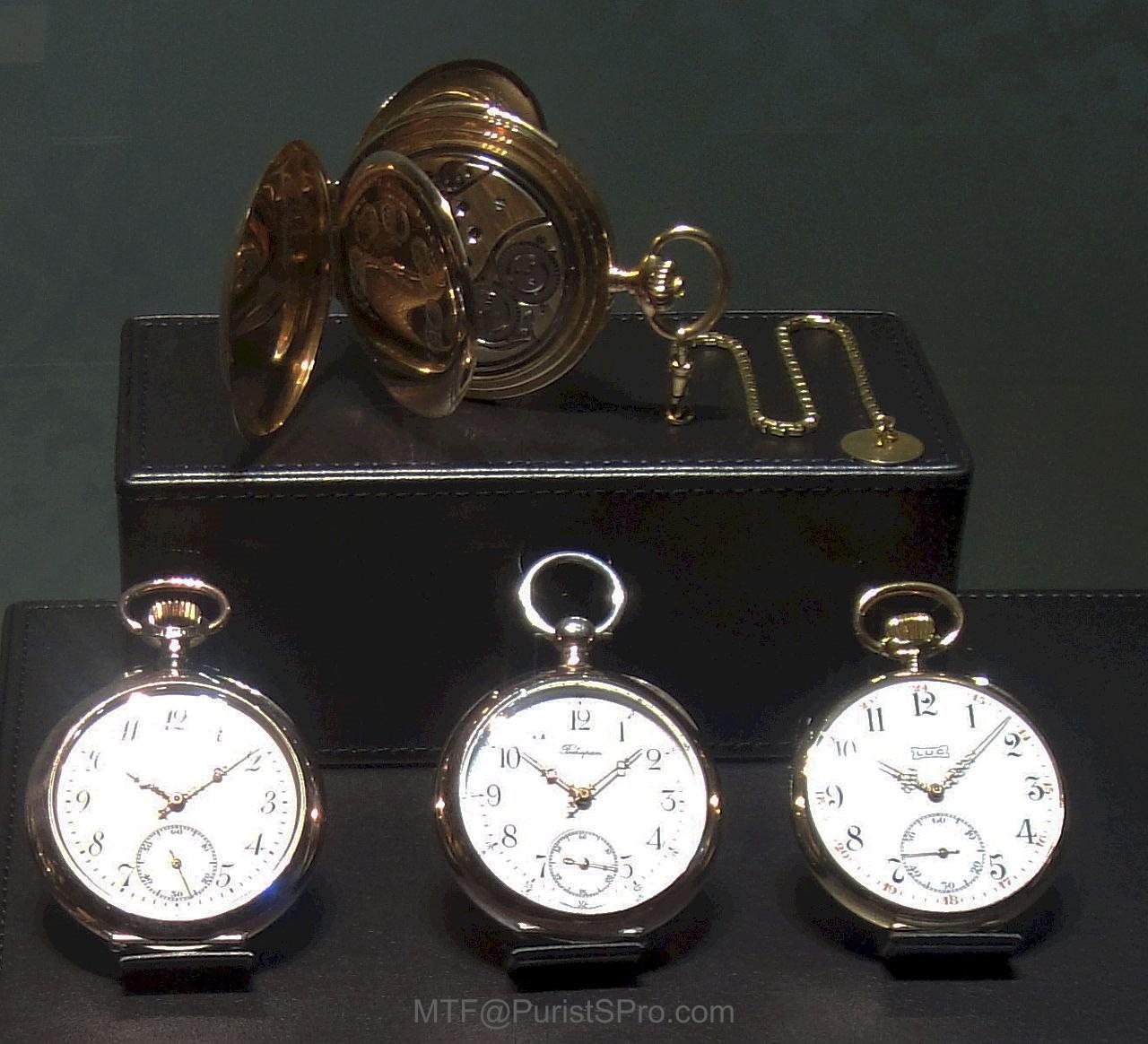 Chopard pocket watches