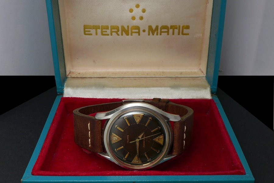 Eterna Matic Kontiki 1958 Eterna-matic Kontiki