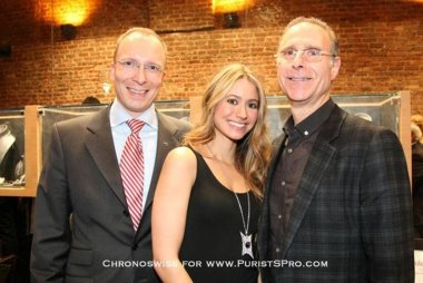 Horological Meandering American Idol David Cook Joins Chronosiwss For Nyc Opening