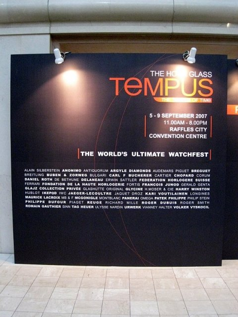 Pass by the Tempus Signboard