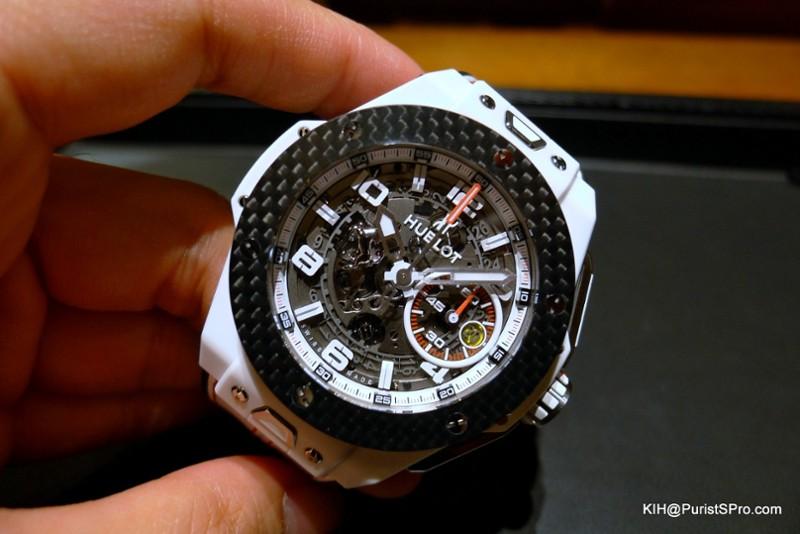 Hublot , Hublot Big Bang Ferrari White Ceramic Carbon , Don