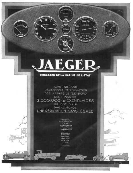 Jaeger - Montre voiture Jaeger Jlc_image.760811