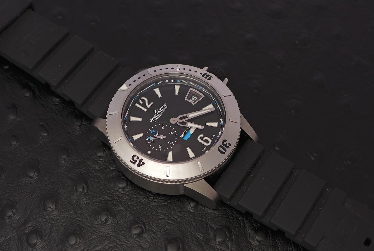 cb0d1c945529 Jaeger Lecoultre Master Compressor Diving GMT  The review of a Blast ...