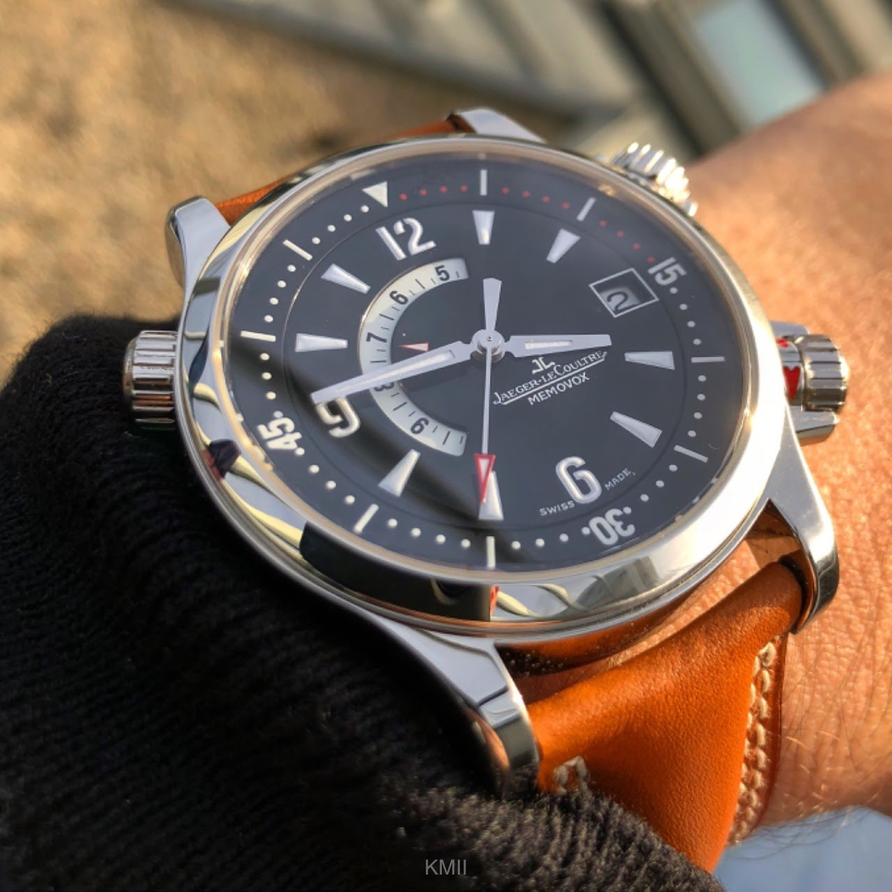 JLC - Not enough wrist time for a review yet but a quick wrist shot