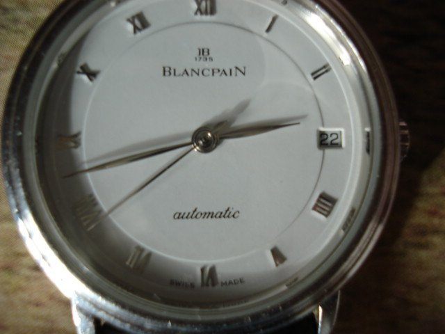 Collectors Market - FS: Blancpain Villeret (their is NO paper on it