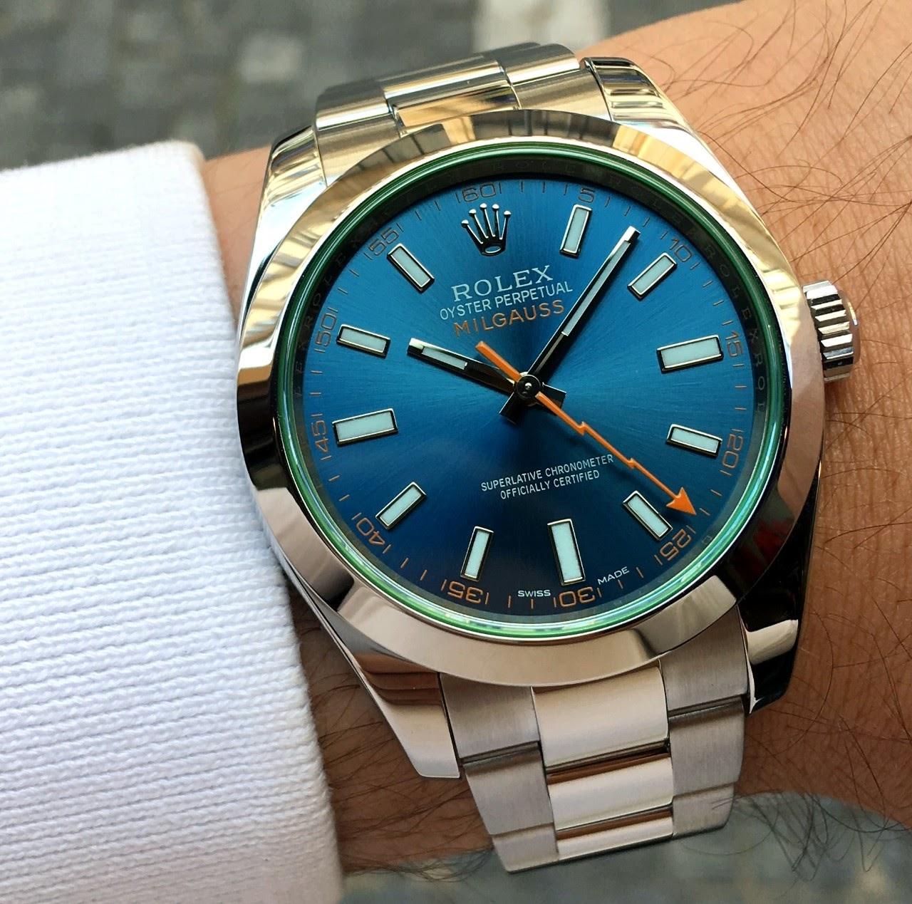 Rolex milgauss 2019