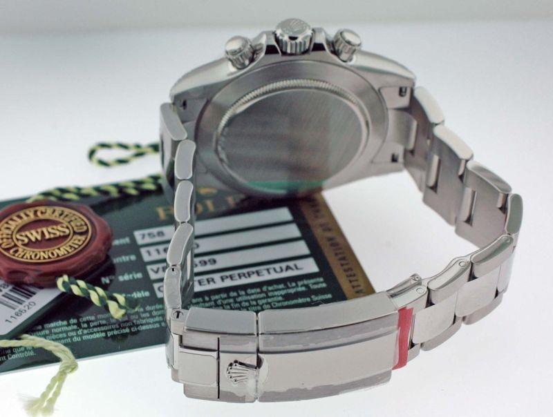 rolex daytona ref116520. Rolex Daytona quot;Vquot; Serial Ref. 116520 Black Dial