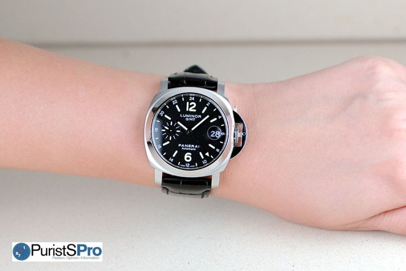 The Pam244 Luminor Gmt A Perfect Panerai For Women