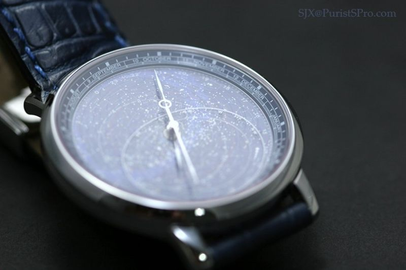 Horological Meandering We Are All In The Gutter But Some Of Us - Star map watch
