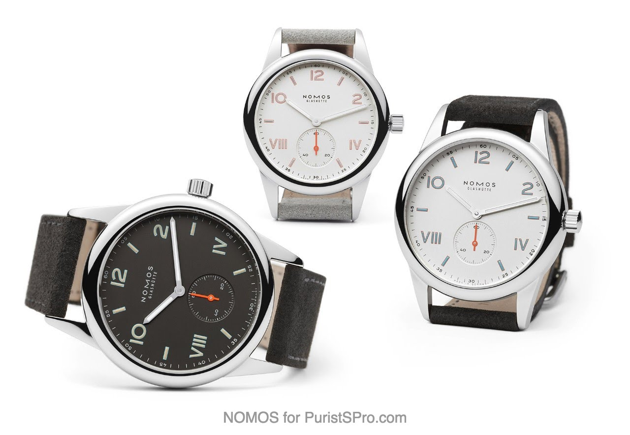 Nomos club alpha oder swing system