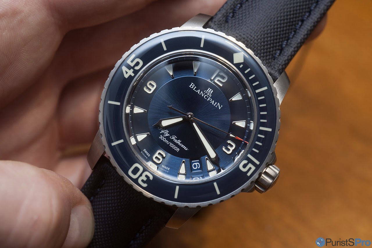 Blancpain Baselworld 2017 Impressions Of The Lovely Titanium