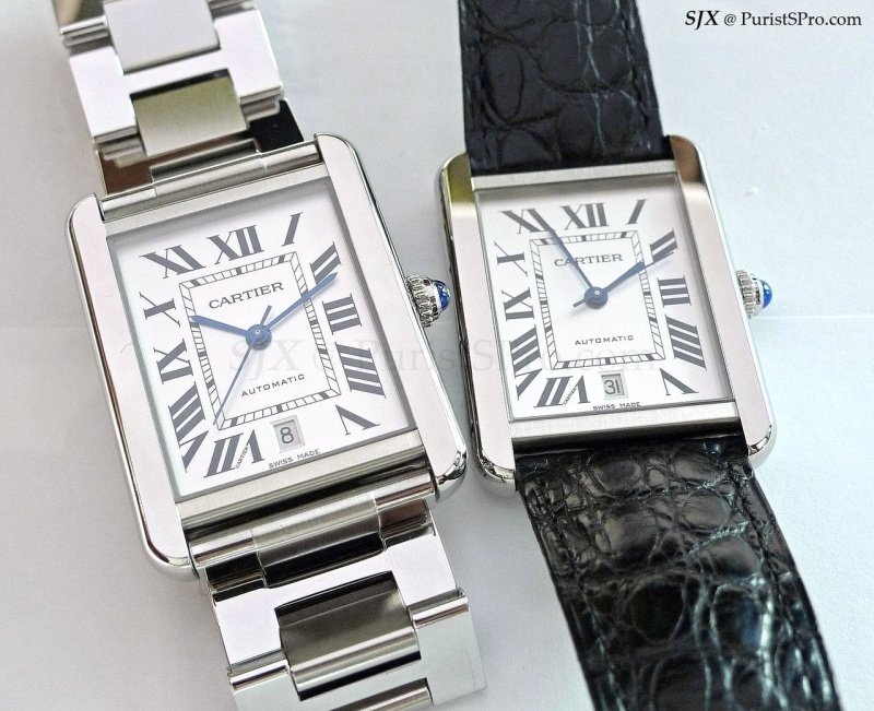 dfa2fd0ab45a Cartier - A look at the Tank Solo XL automatic - entry level luxury