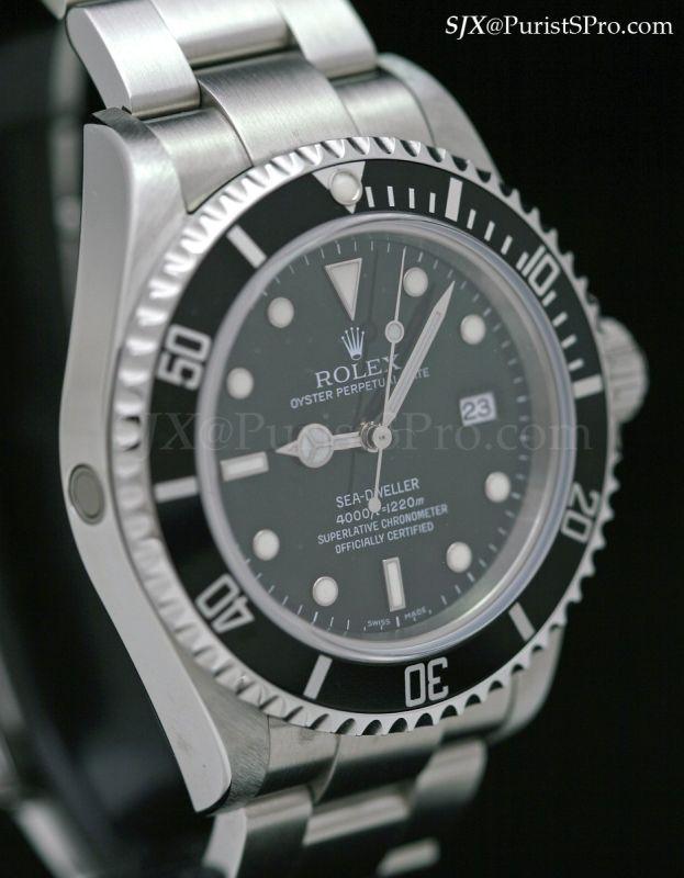 Rolex Sea Dweller 16600 vs Submariner The Sea-dweller 16600 Went