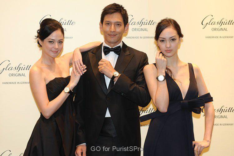 From left) Models Jocelyn Sandstorm, Anthony Sandstorm and Jessica C.