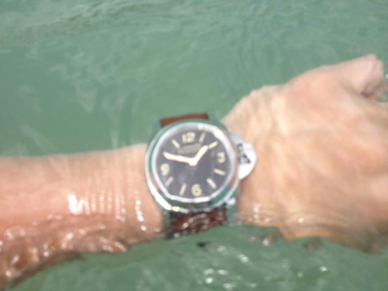 The PAM390 still works underwater
