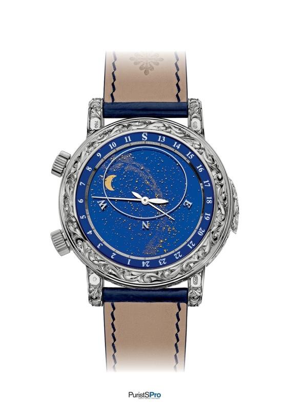 мужу безумно купить часы patek philippe sky moon tourbillon копия главное переборщить