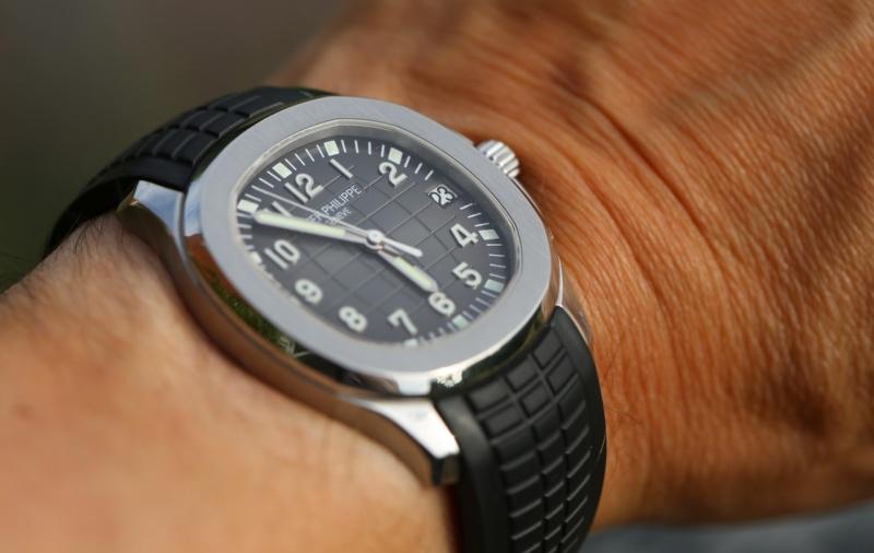 5167 Aquanaut Gold Watch