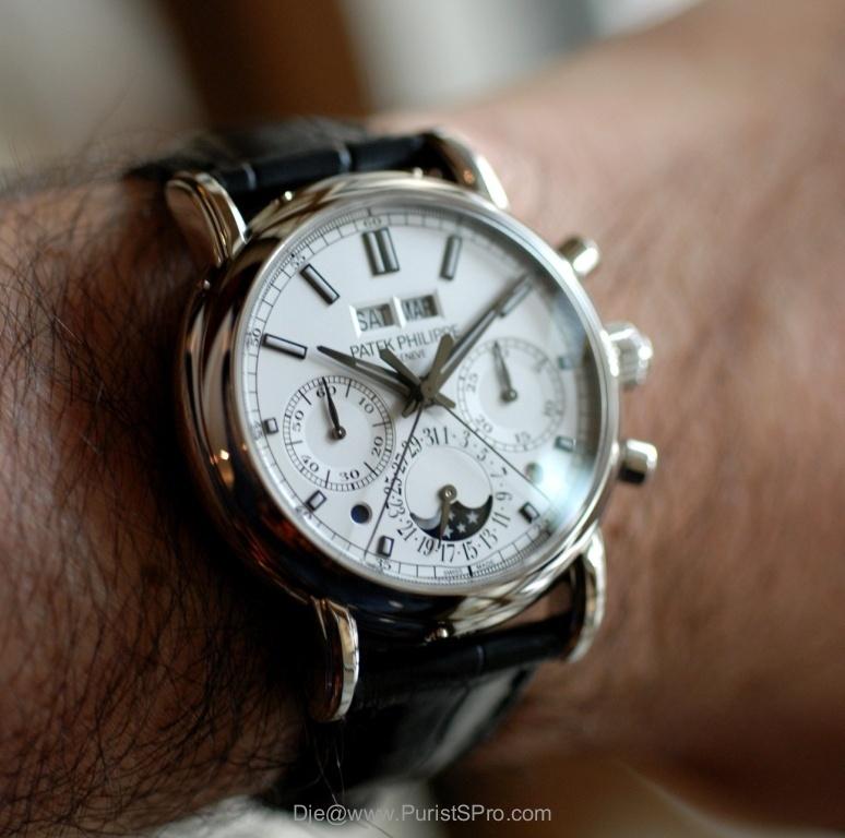 [SIHH2013] Lange chronographe rattrapante quantième perpétuel Patek_image.2847443