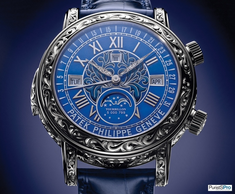 обоняние patek philippe sky moon tourbillon mens watch model 5002p духи еще более