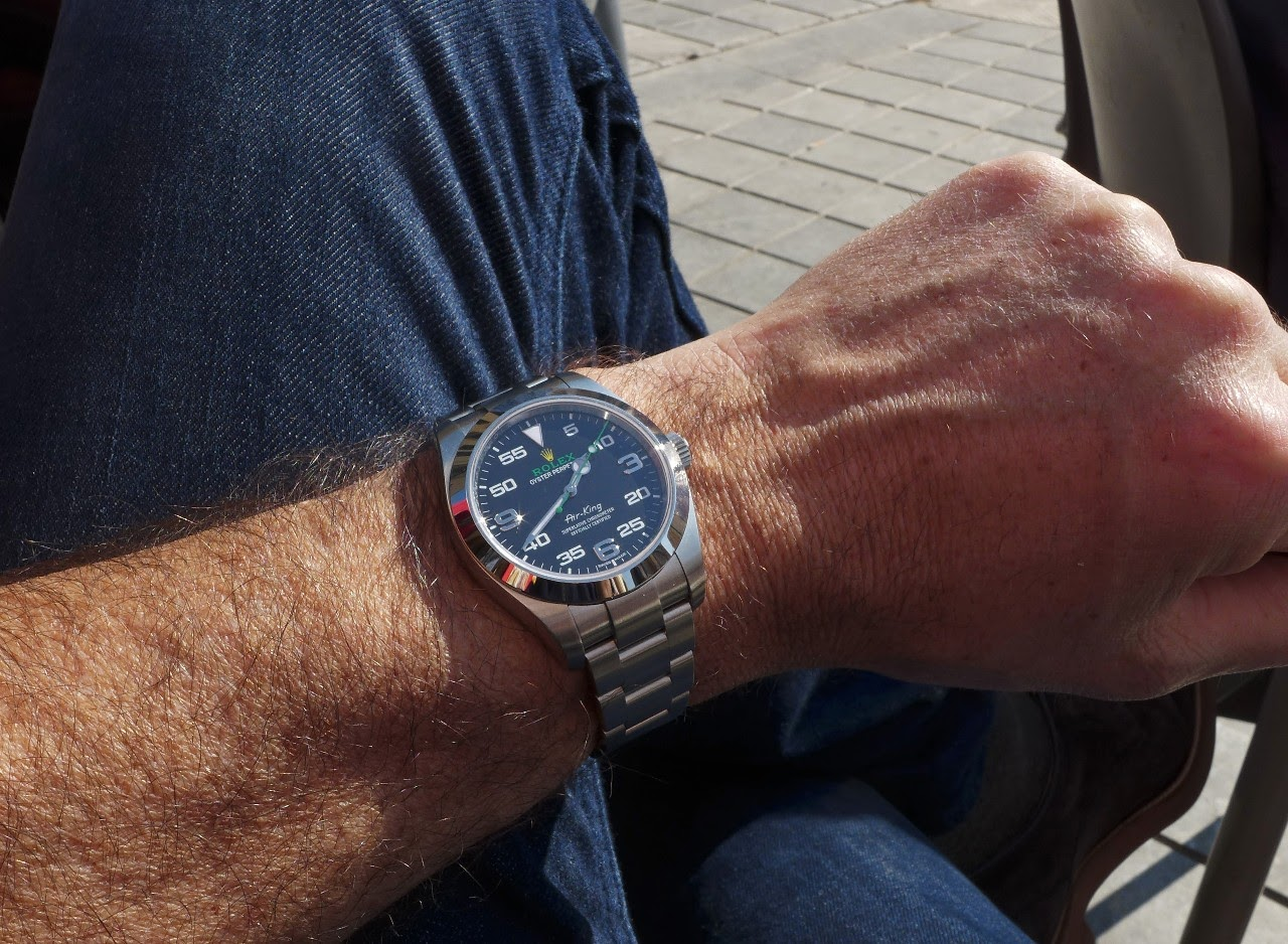 sports shoes bff17 9a343 Rolex - A review on the 2016 Rolex Air King Ref 116 900.