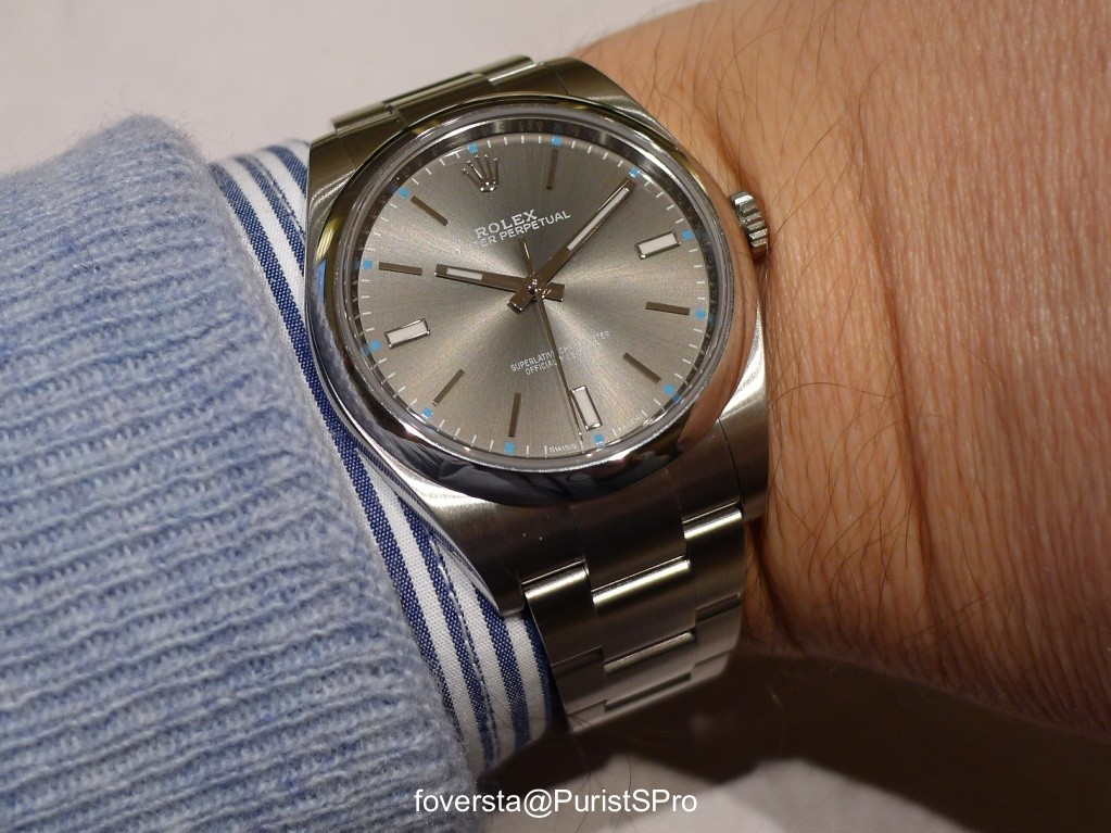 Rolex Oyster Perpetual 39 Review