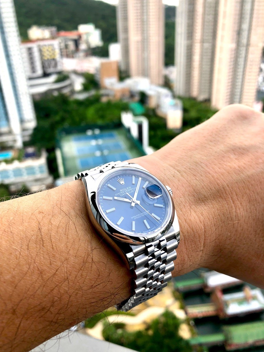 Rolex , Datejust 126200 , Two weeks on the wrist