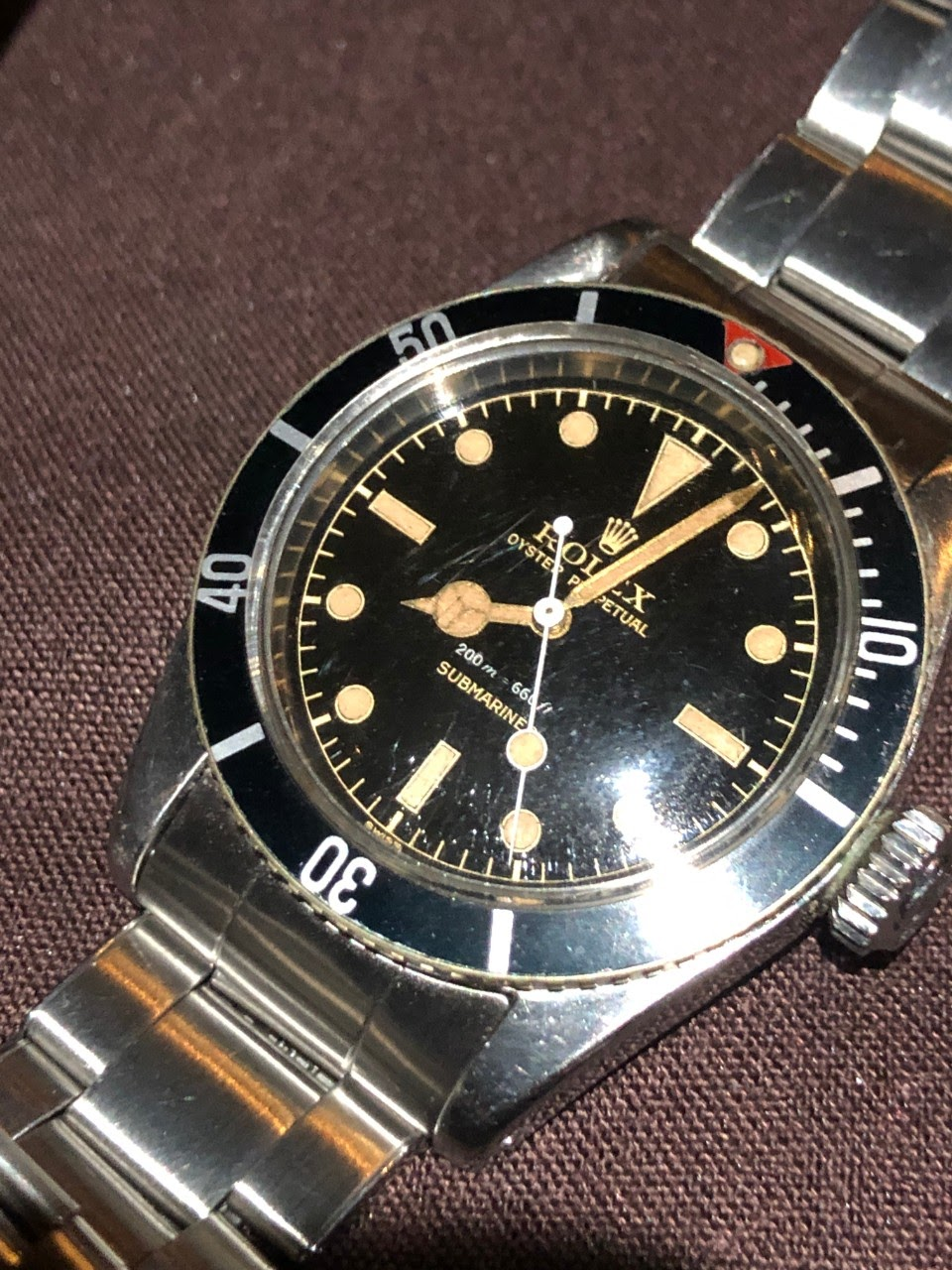 Rolex Rolex Big Guns Submariner 6538 Big Crown Rolex 6205 Circa