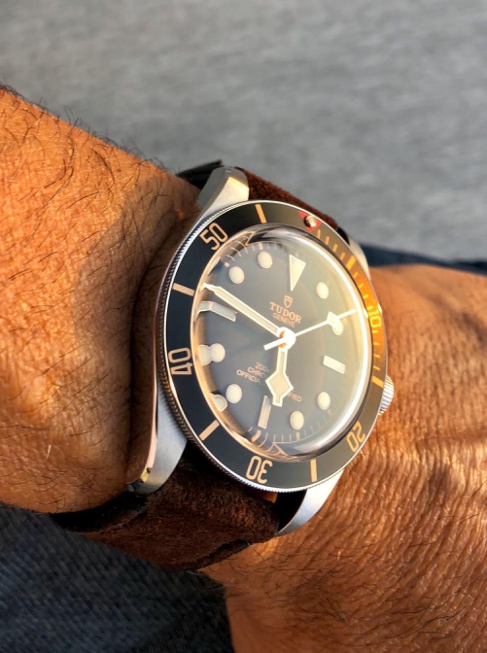 Rolex Finally Tudor Black Bay 58 On My Wrist