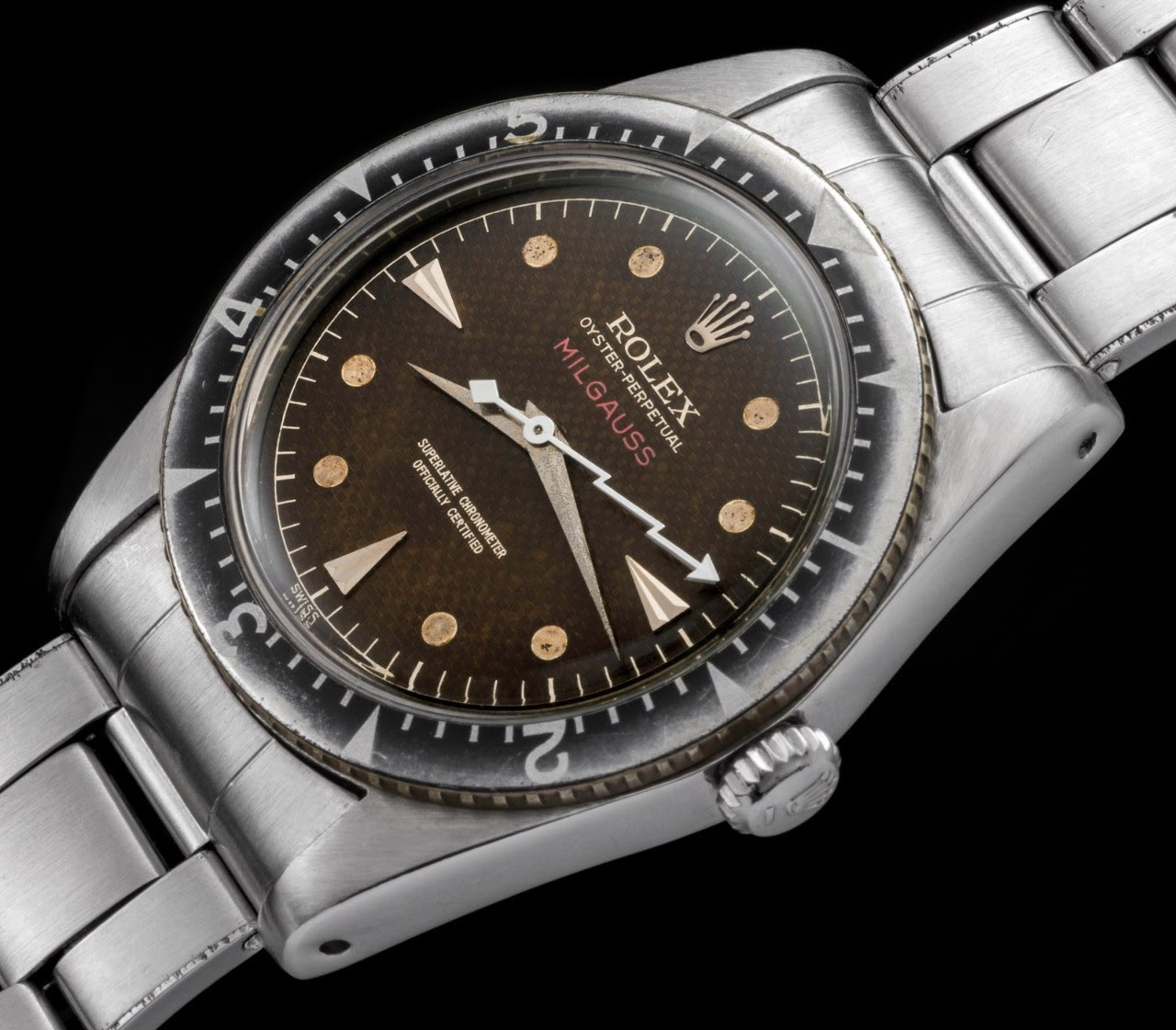 Rolex , Rolex Milgauss 6541 A Cult Watch in the Vintage