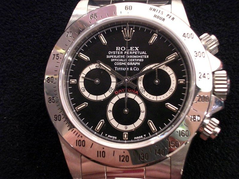 a Rolex Datejust watch