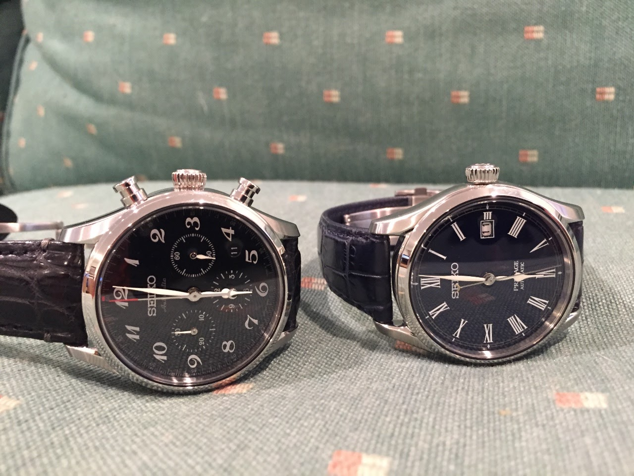 Seiko - Which of these two Presage do you prefer, and why?