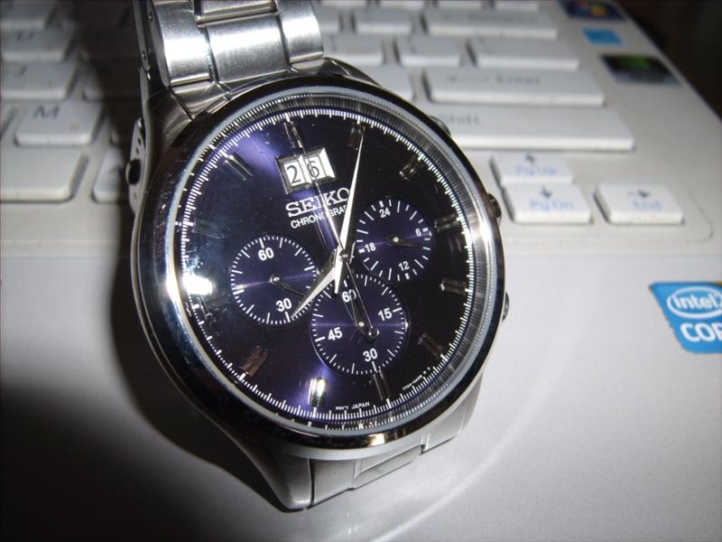 Seiko Big Date Chronograph Seiko Chrono-big Date