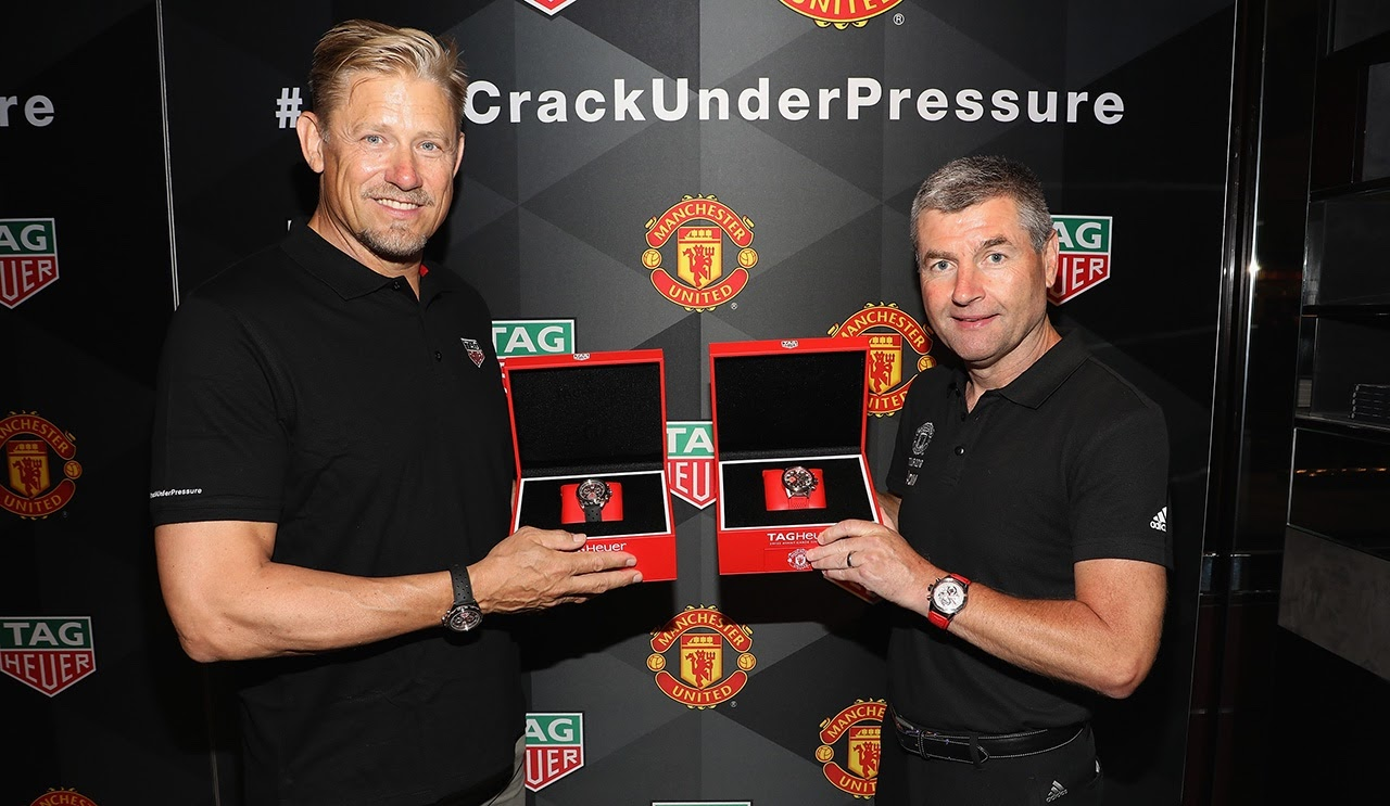 67539365f Irwin and Schmeichel challenged VIP guests to test their   DontCrackUnderPressure mentality in intense games of foosball. During the  event