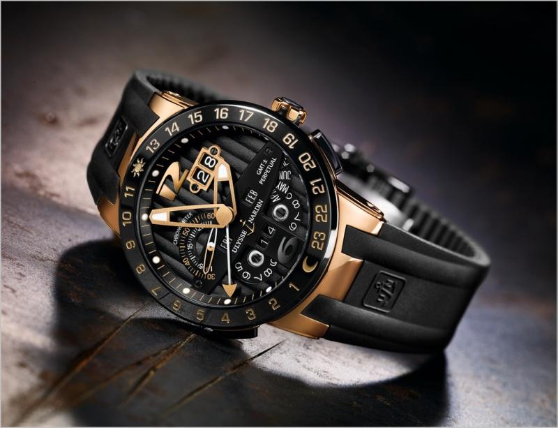 Những chiếc đồng hồ siêu đỉnh của Ulysse Nardin