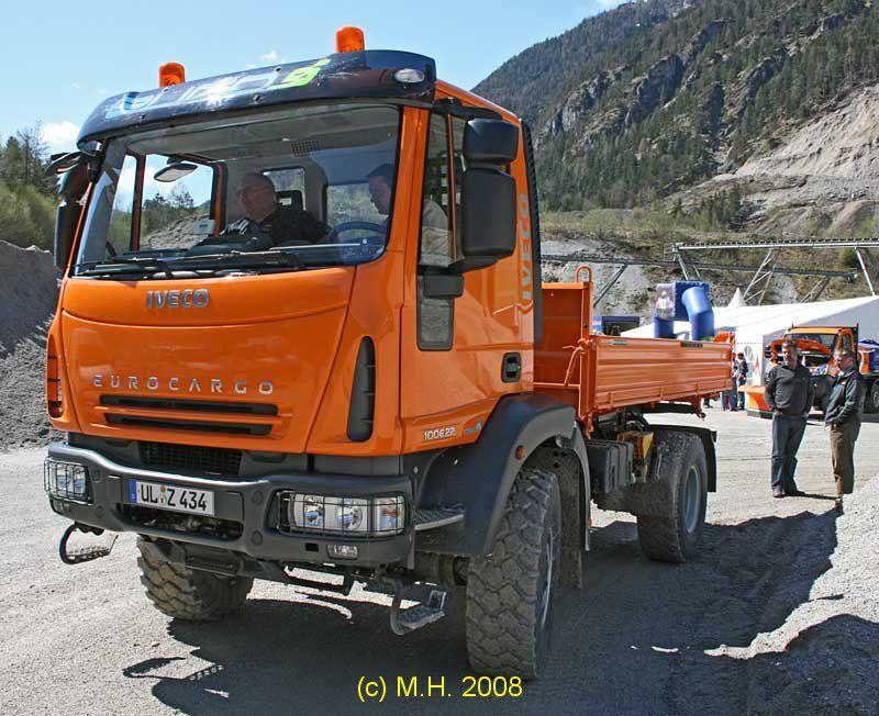 Iveco Eurocargo 4x4. Weil der Eurocargo 4x4 von