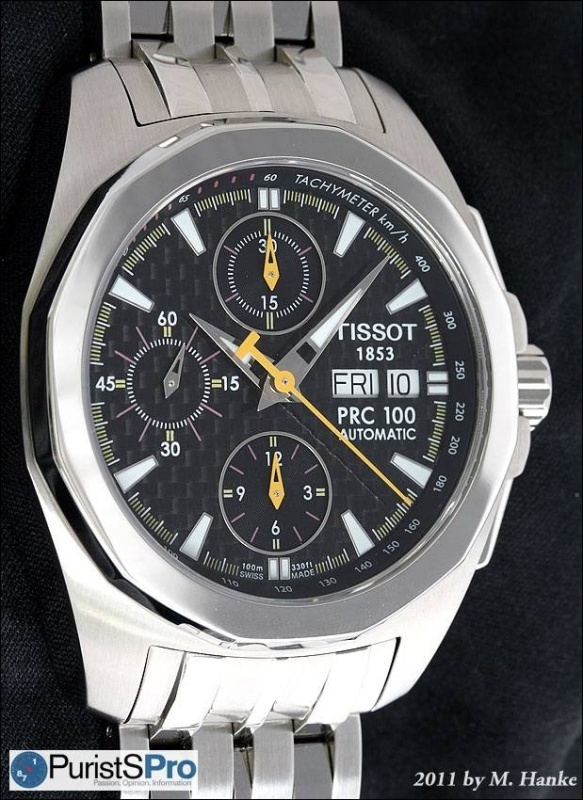 Horological Meandering - In-depth review: Tissot PRC 100
