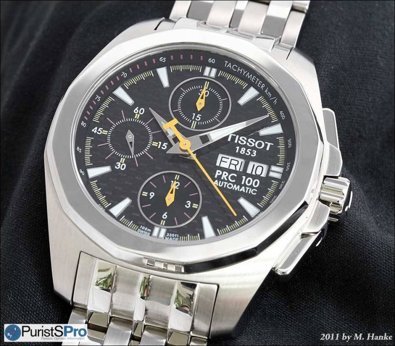 7f15b384224 Horological Meandering - In-depth review: Tissot PRC 100 Chronograph ...