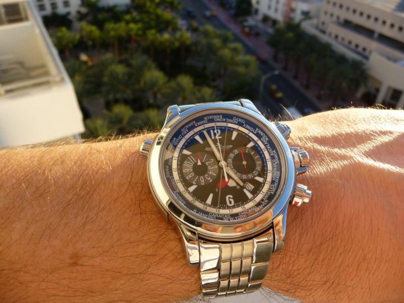 SIHH 2010, Jaeger LeCoultre Master Chrono Wristscan_image.1489726