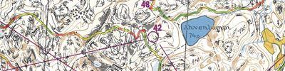 Tuto Silvis Nostalgia Kisakallio - MM-katsastus 1972 -kartta