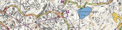 Tuto Silvis Kisakallio Lohja - 1972 MM-kisakatsastus kartalla