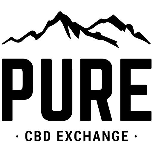 Pure CBD Exchange Black Logo